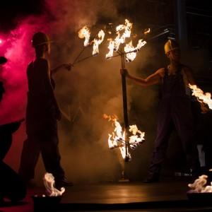 industrialny pokaz fireshow