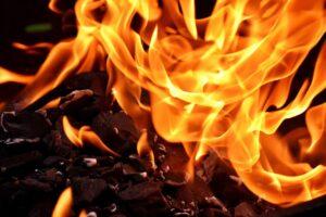 zdjęcie ognia